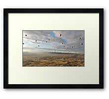 Up, up and away! Framed Print