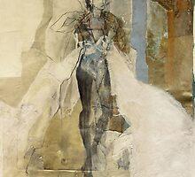 Hommage à Botticelli VII by Ute Rathmann