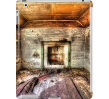 Abandoned Bush house #1 & #2, the lounge room (portrait) iPad Case/Skin
