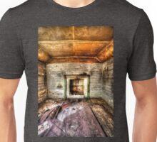 Abandoned Bush house #1 & #2, the lounge room (portrait) Unisex T-Shirt