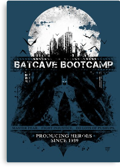 Batcave Bootcamp (Blue) by Rorus007