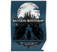 Batcave Bootcamp (Blue) Poster