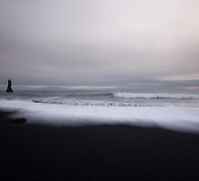 waves and rocks by JorunnSjofn Gudlaugsdottir