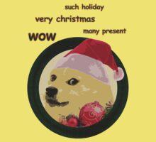Christmas Doge Kids Tee