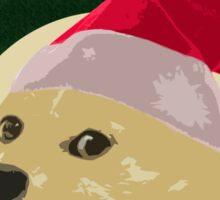 Christmas Doge Sticker