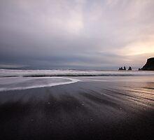 reflection in the sand by JorunnSjofn Gudlaugsdottir