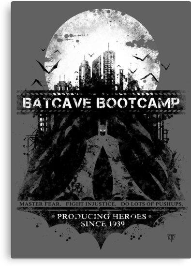Batcave Bootcamp (Gray) by Rorus007