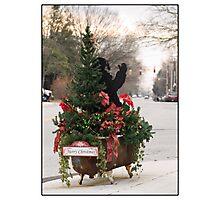 Merry Christmas Bellefonte! Photographic Print