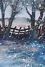 Winter Blues by Val Spayne