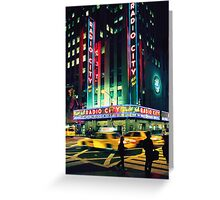 August - Calendar New York Greeting Card
