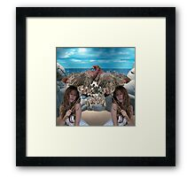 Parasol Disguise Framed Print
