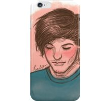 He's the blue to my dull colours iPhone Case/Skin