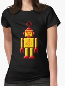 Atomic Robot Womens Fitted T-Shirt