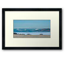 Mist In The Vally (Trossachs) Framed Print