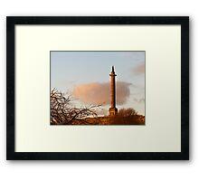 Duke of Gordon at sundown Framed Print