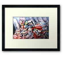 BLINDED BY THE LIGHT - FFXIII-3 Framed Print