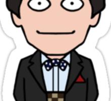 The Second Doctor (sticker) Sticker