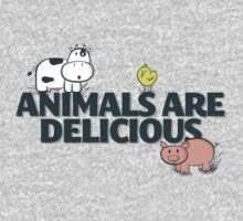 Animals Are Delicious Kids Clothes