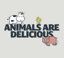 Animals Are Delicious T-Shirt