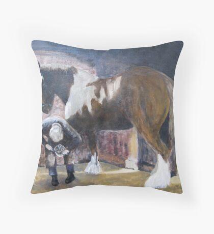 The Farrier Throw Pillow