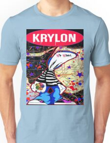 New York City Subaway Graffit Art Map Krylon Unisex T-Shirt