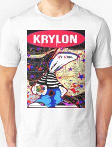 New York City Subaway Graffit Art Map Krylon T-Shirt