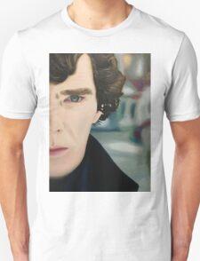 sherlock - oil Unisex T-Shirt