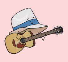 Fedora Crooner One Piece - Short Sleeve