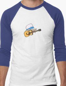 Fedora Crooner Men's Baseball ¾ T-Shirt