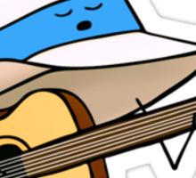 Fedora Crooner Sticker