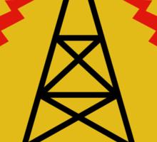 Goldenrod Radio (Alternate) Sticker