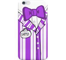 Dapper Dan - Purple iPhone Case/Skin