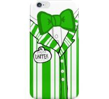 Dapper Dan - Green iPhone Case/Skin