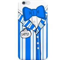 Dapper Dan - Blue iPhone Case/Skin