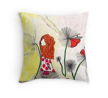 Dandelion Dreams Throw Pillow