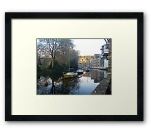 Mill Tail Creek Framed Print