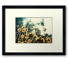 Something Good Can Work. Framed Print