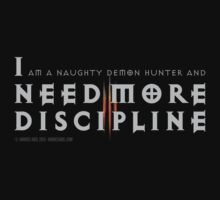 I Need More Discipline by Andrés Abel
