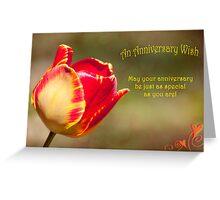 An Anniversary Wish Greeting Card
