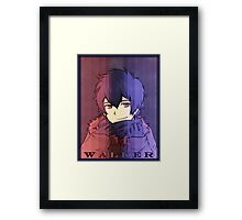 Walker Framed Print