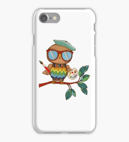 Little Wise Artist iPhone Case/Skin