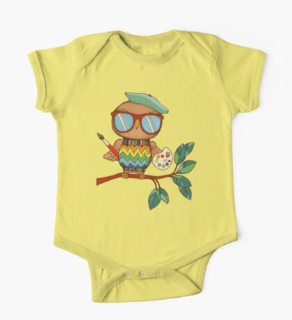 Little Wise Artist One Piece - Short Sleeve