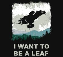 I Want To Be A Leaf (Serenity & The X-Files) Kids Clothes