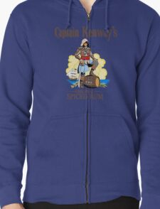 Captain Kenway's original rum Zipped Hoodie