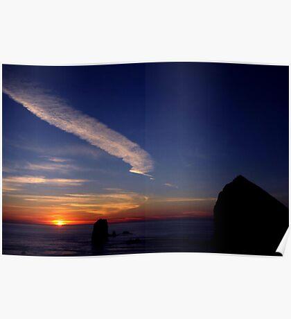 CANON BEACH SUNSET~ Poster