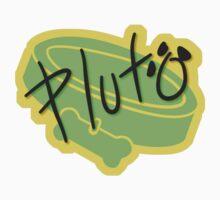 Pluto Symbol & Signature Kids Tee