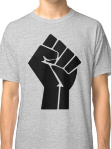 Raised Fist / Black Power Symbol Classic T-Shirt