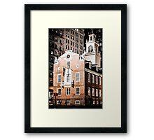 Old State House, Boston, Massachusetts Framed Print