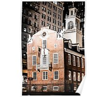 Old State House, Boston, Massachusetts Poster