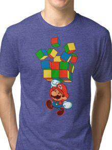 Super rubiks bros. Tri-blend T-Shirt